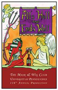 2004 All's Hell that Ends Well Poster