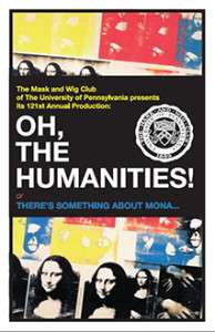 2009 Oh, The Humanities! Poster